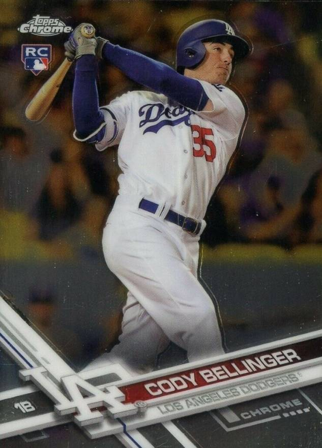 2017 Topps Chrome Update Cody Bellinger #HMT10 Baseball Card