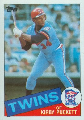 1985 Topps Kirby Puckett #536 Baseball Card