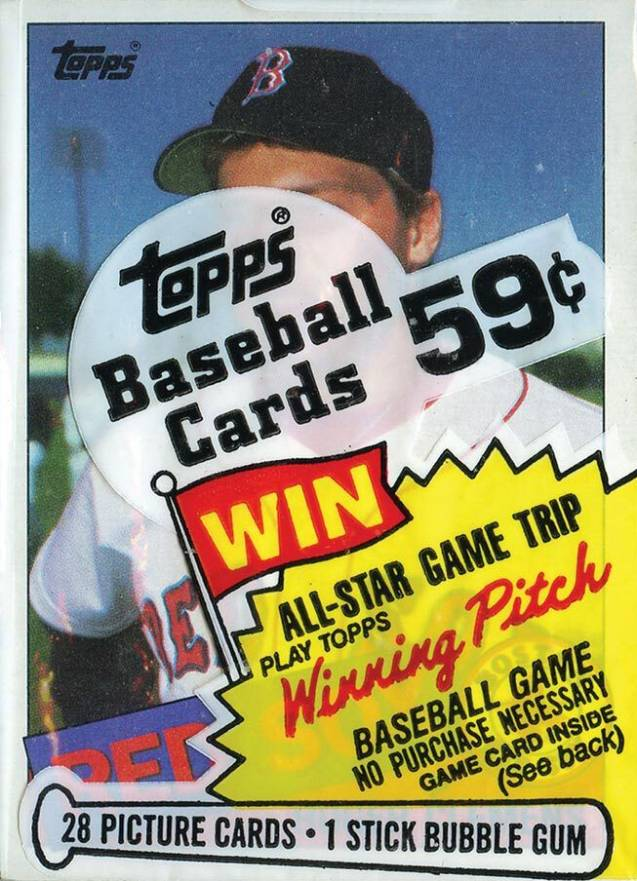 1985 Topps Cello Pack #CP Baseball Card