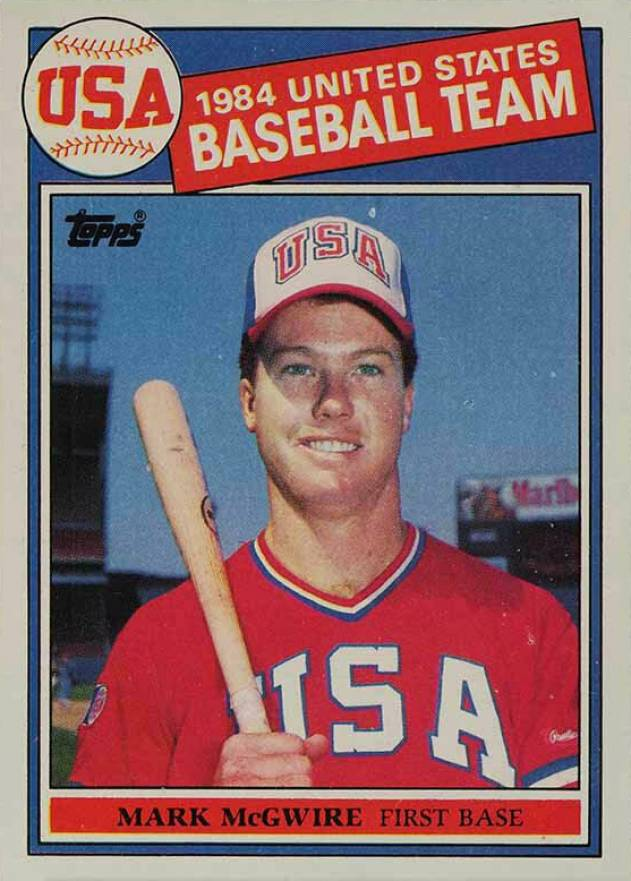1985 Topps Mark Mcgwire 401 Baseball Vcp Price Guide