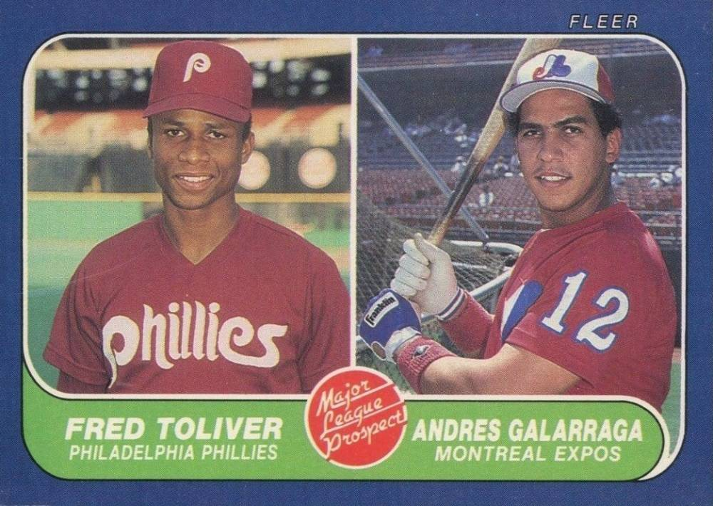 1986 Fleer Baseball Card Set Vcp Price Guide