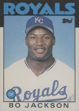1986 Topps Traded Bo Jackson #50T Baseball Card