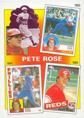 1986 Topps Rose Special 1983-85 #7 Baseball Card