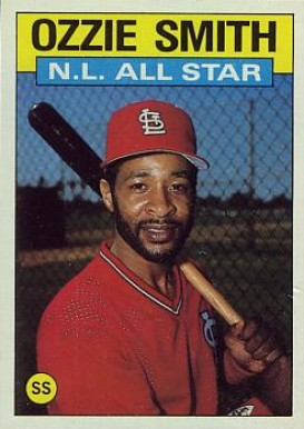 Ozzie Smith Hall Of Fame Baseball Cards