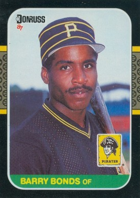 1987 Donruss Barry Bonds #361 Baseball Card