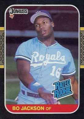 1987 Donruss Bo Jackson #35 Baseball Card