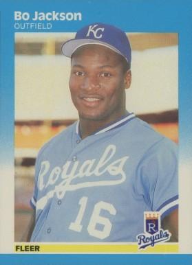 1987 Fleer Glossy Bo Jackson 369 Baseball Vcp Price Guide