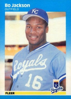 1987 Fleer Bo Jackson #369 Baseball Card