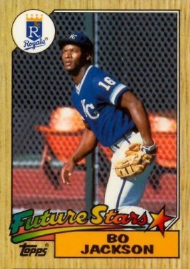 1987 Topps Tiffany Bo Jackson #170 Baseball Card