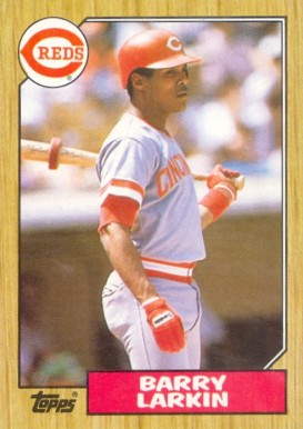 1987 Topps Barry Larkin #648 Baseball Card