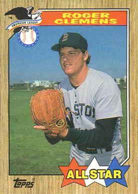 Roger Clemens Baseball Cards