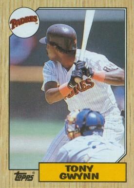 Tony Gwynn Hall Of Fame Baseball Cards