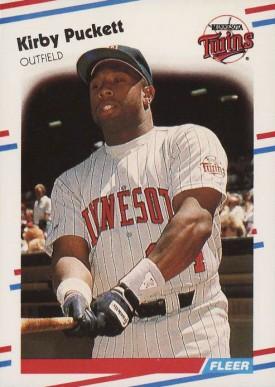 Kirby Puckett Hall Of Fame Baseball Cards