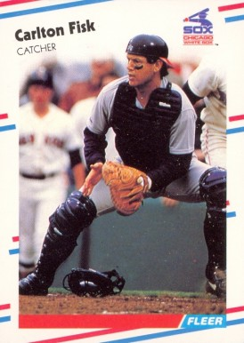 1988 Fleer Carlton Fisk #397 Baseball Card