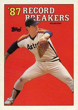 1988 Topps Nolan Ryan #6 Baseball Card