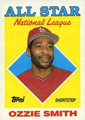 1988 Topps Ozzie Smith #400 Baseball Card
