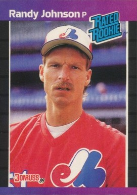 Randy Johnson Hall Of Fame Baseball Cards