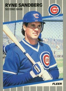 Ryne Sandberg Hall Of Fame Baseball Cards