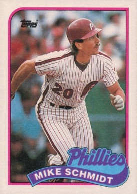 1989 Topps Mike Schmidt 100 Baseball Vcp Price Guide