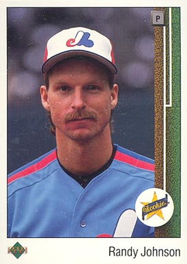 1989 Upper Deck Randy Johnson #25 Baseball Card