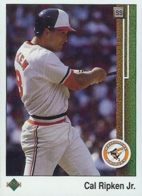 1989 Upper Deck Cal Ripken #467 Baseball Card