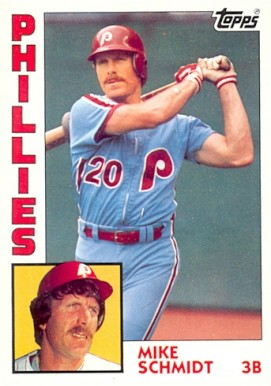 1984 Topps Mike Schmidt #700 Baseball Card