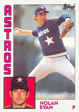 Nolan Ryan Hall Of Fame Baseball Cards