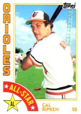 1984 Topps Cal Ripken All Star 400 Baseball Vcp Price Guide