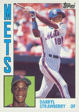 1984 Topps Darryl Strawberry #182 Baseball Card