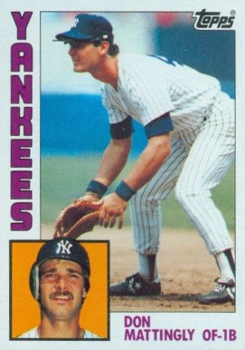 1984 Topps Don Mattingly #8 Baseball Card