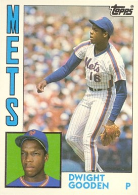 1984 Topps Traded Dwight Gooden #42T Baseball Card