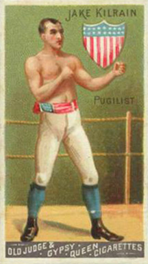 1888 Goodwin Champions Jake Kilrain #25 Boxing & Other Card