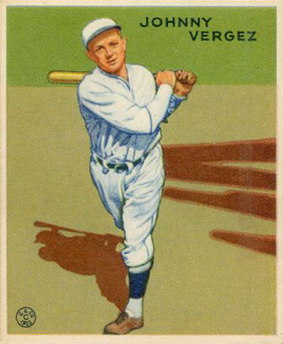 1933 Goudey Johnny Vergez #233 Baseball Card