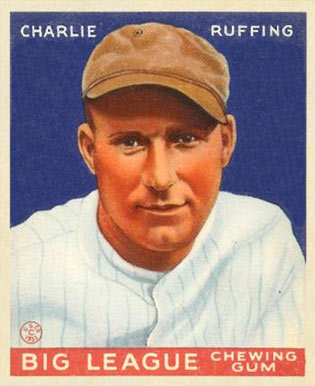 1933 Goudey Red Ruffing #56 Baseball Card
