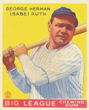an analysis of the baseball by george herman ruth Babe ruth, the pitcher babe ruth's full baseball how babe got his nickname and the ballplayer whose real name is george herman ruth jr had one of.