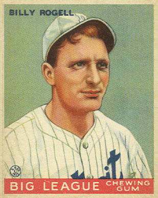 1933 Goudey Bill Rogell #11 Baseball Card