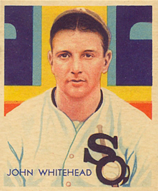 1935 Diamond Stars John Whitehead #51 Baseball Card