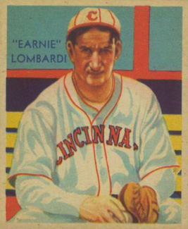 1935 Diamond Stars Ernie Lombardi #36e Baseball Card