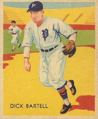 1935 Diamond Stars  Dick Bartell #15 Baseball Card