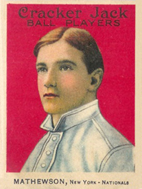 1915 Cracker Jack MATHEWSON, New York-Nationals #88 Baseball Card