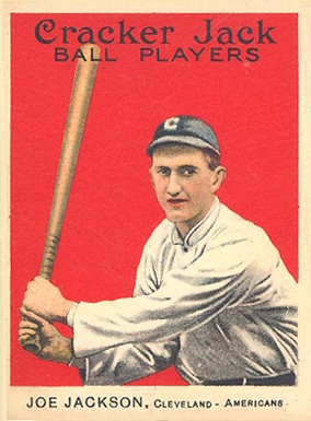 1914 Cracker Jack Joe Jackson #103 Baseball Card