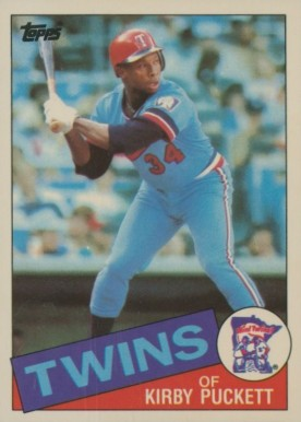 1985 Topps Tiffany Kirby Puckett #536 Baseball Card