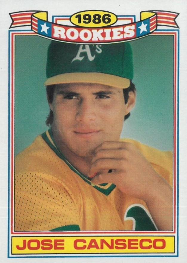 Jose Canseco Baseball Cards