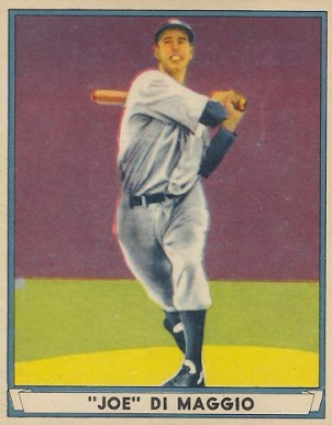1941 Play Ball Joe DiMaggio #71 Baseball Card