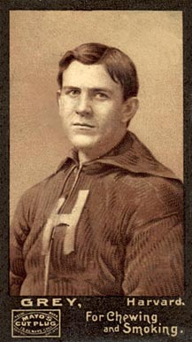 1894 Mayo Cut Plugs G.A. Grey #14 Football Card