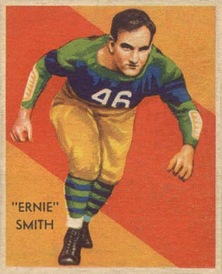 1935 National Chicle Ernie Smith #33 Football Card