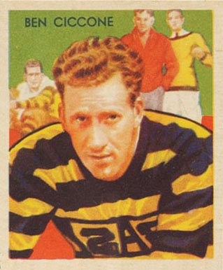 1935 National Chicle Ben Ciccone #15 Football Card