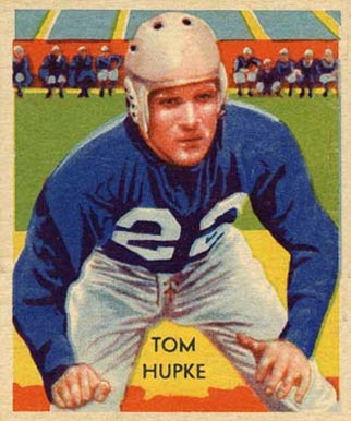 1935 National Chicle Tom Hupke #12 Football Card