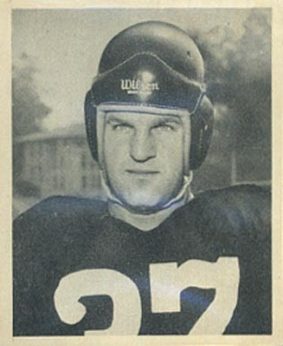 1948 Bowman Joe Tereshinski #1 Football Card