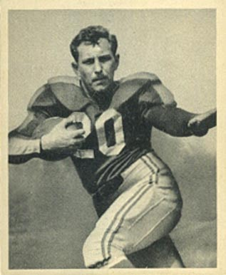 1948 Bowman Frank Seno #14 Football Card